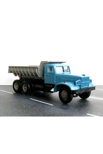 Auto KRAZSB Автомобиль КрАЗ самосвал кабина синяя 1/87