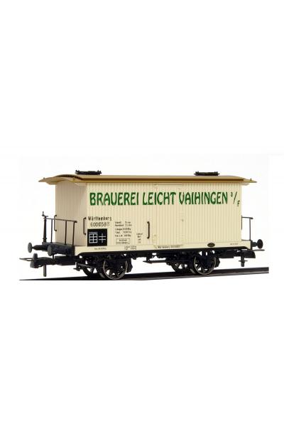 Brawa 2101 Вагон Bierwagen Brauerie Leicht K.W.St.E. Epoche I 1/87