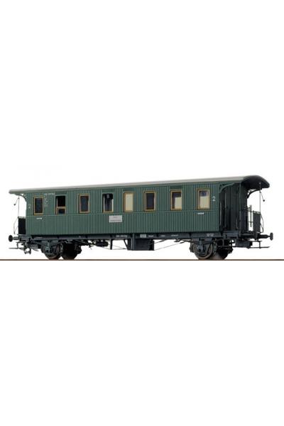 Brawa 2160  Вагон пассажирский 2 кл DB Epoche III 1/87