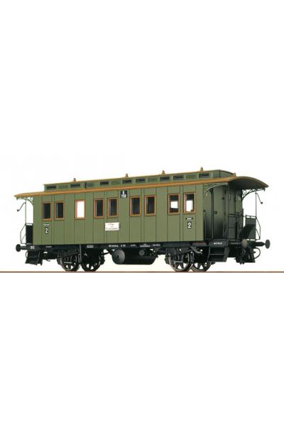 Brawa 2401 Вагон пассажирский B.158 K.W.St.E. Epoche I 1/87