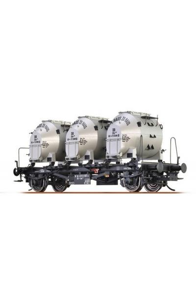 Brawa 37152 Вагон с контейнерами Lbs 577 DB IV 1/45
