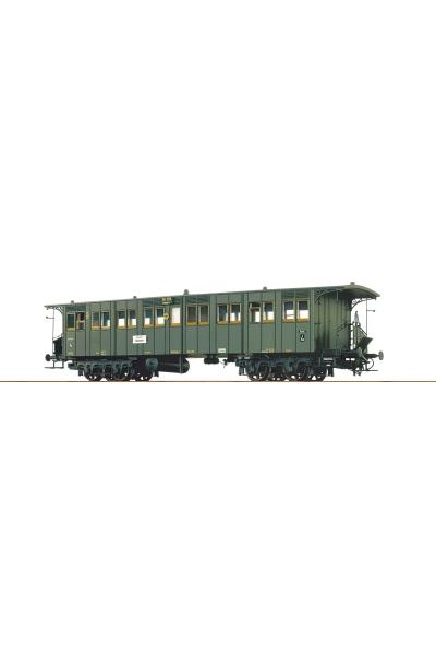 Brawa 45053 Вагон пассажирский D4i DRG Epoche II 1/87