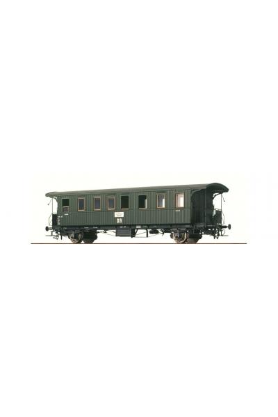 Brawa 45100 Пассажирский вагон Bid wu 12 DR Epoche III 1/87