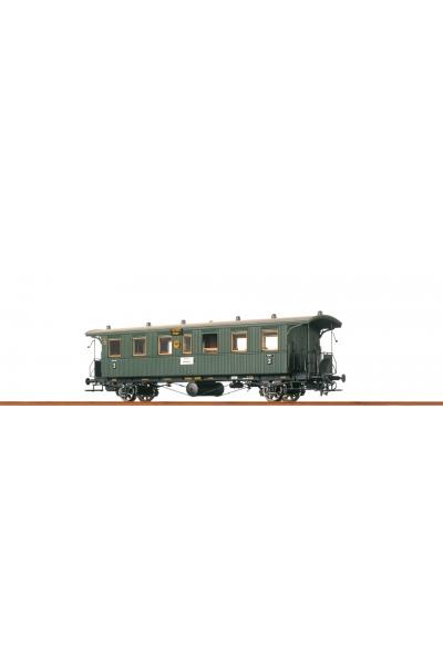 Brawa 45107 Пассажирский вагон DRG Epoche II 1/87
