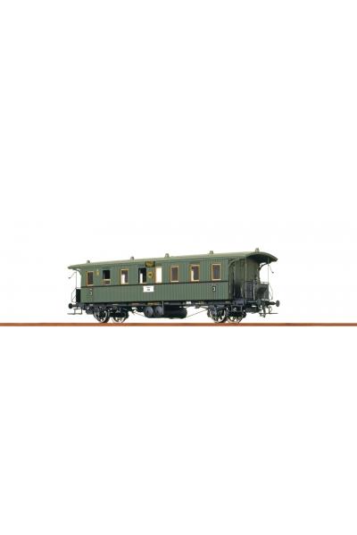 Brawa 45108 Пассажирский вагон DRG Epoche II 1/87