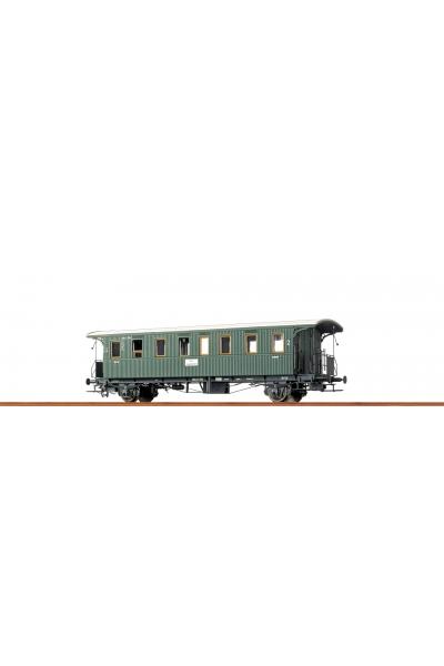 Brawa 45110 Пассажирский вагон DB Epoche III 1/87