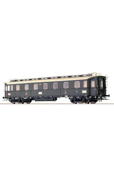 Brawa 45204 Вагон пассажирский AB4u 04283 K.P.E.V. Epoche I 1/87