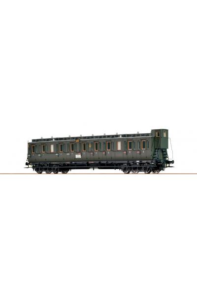 Brawa 45252 Пассажирский вагон C4pr Hannover DRG Epoche II 1/87