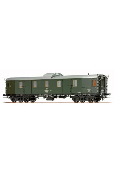 Brawa 45411 Вагон багажный G 638 DB Epoche IV 1/87