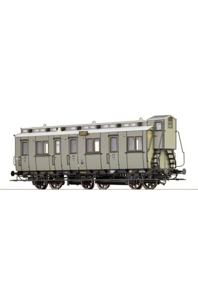 Brawa 45464 Вагон пассажирский C3tr 3405 K.P.E.V. Epoche I 1/87