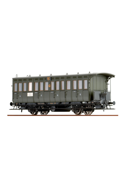 Brawa 45604 Вагон пассажирский Abteilwagen 3947 Stuttgart DRG Epoche II 1/87