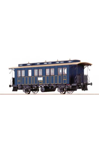 Brawa 45608 Вагон пассажирский A.166 K.W.St.E. Epoche I 1/87