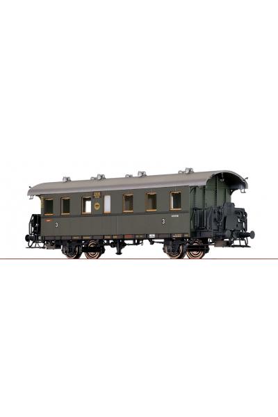 Brawa 45818 Вагон пассажирский Cidel-24 2930 Breslau DRG Epoche II 1/87