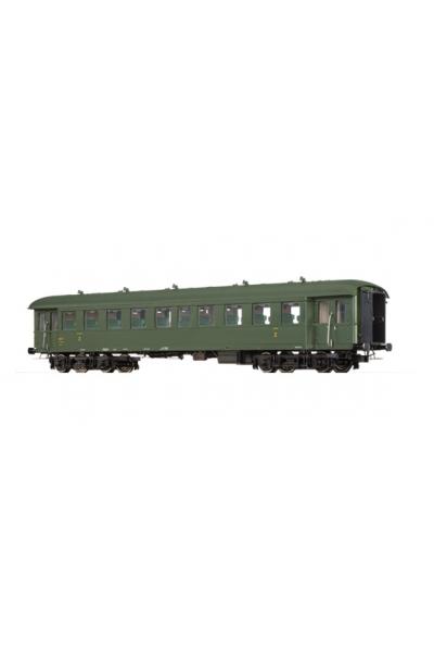 Brawa 46163 Вагон пассажирский B9ti 14917 SNCF Epoche III 1/87