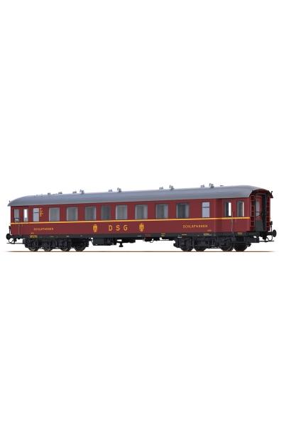 Brawa 46169 Вагон пассажирский WL4u-36/50 19110 DSG Epoche III 1/87