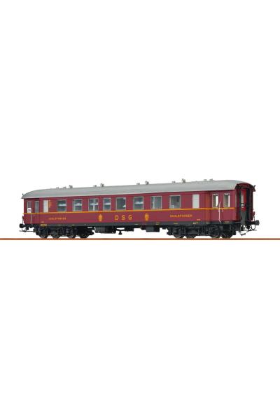 Brawa 46186 Вагон пассажирский WL4u-36/50 19105 DSG Epoche III 1/87