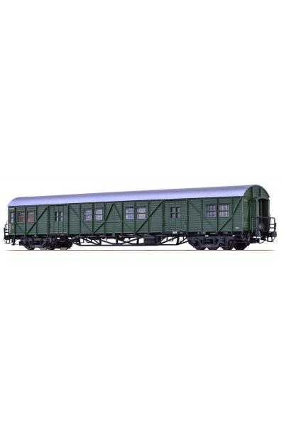 Brawa 46251 Вагон багажный MPw4yge-57 113 710 Ffm DB Epoche III 1/87