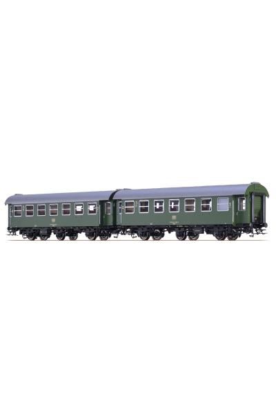 Brawa 46309 Вагон пассажирский B3yge DB Epoche IV 1/87