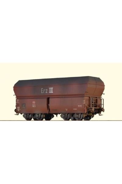 Brawa 47562 Вагон для перевозки  OOtz 23 DB Epoche III 1/87