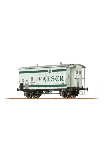 Brawa 47825 Вагон K2 515 250 Valser Wasser SBB Epoche III 1/87