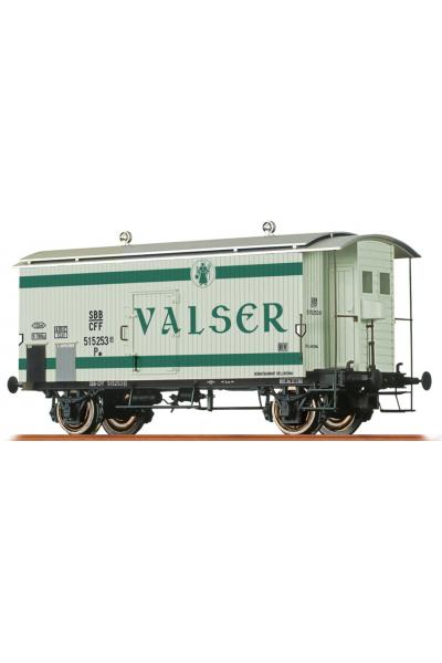 Brawa 47873 Вагон K2  Valser 515 253 SBB Epoche III 1/87