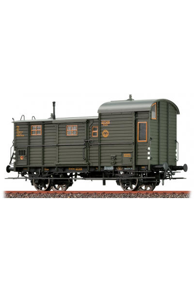 Brawa 48364 Набор вагонов Pwg 12 DRG Epoche II 1/87
