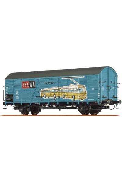 Brawa 48736 Вагон Gltr 23 Trolleybus/BRAWA Brit. US-Zone Epoche III 1/87