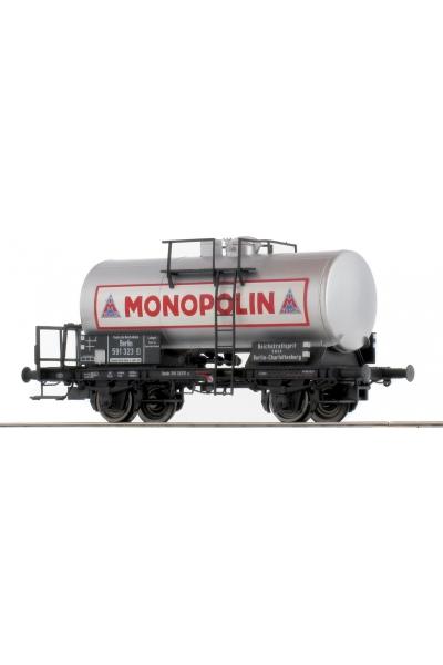 Brawa 49225 Вагон цистерна Z[P] Monopolin DRG Epoche II 1/87