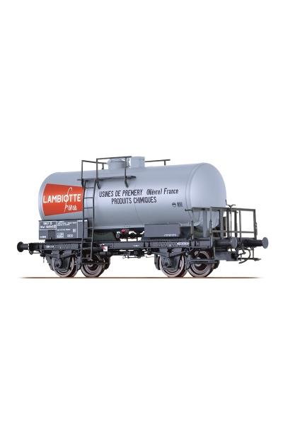 Brawa 49229 Вагон цистерна SCwf Lambiotte SNCF Epoche III 1/87