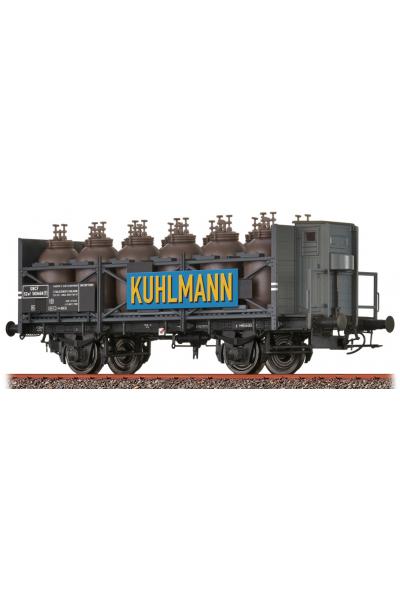 Brawa 49317 Вагон SZwf Kuhlmann SNCF Epoche III 1/87