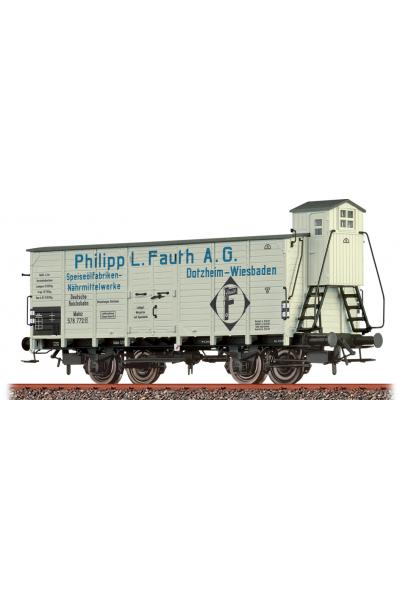 Brawa 49781 Вагон G10 578 772 Philipp L. Fauth A.G DRG Epoche II 1/87