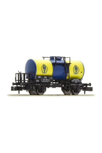 Brawa 67502 Вагон цистерна OMV OBB, Epoche III 1/160