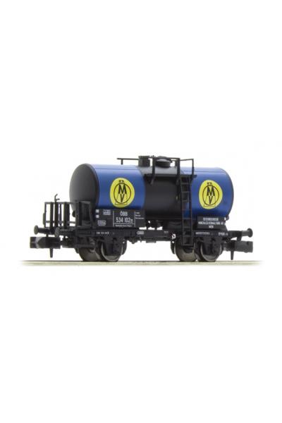 Brawa 67503 Вагон цистерна OMV OBB, Epoche III 1/160