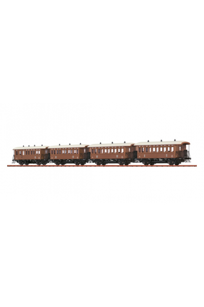 Brawa B2011 Набор пассажирских вагонов k.k.St.B. Epoche I 1/87