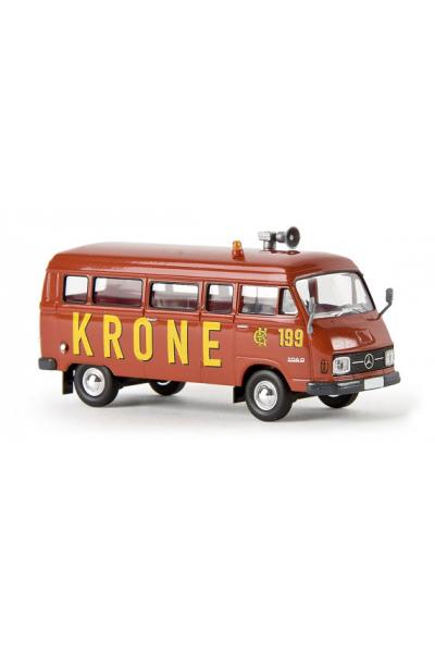 Brekina 13257 Автомобиль MB L 206 D 199 Circus Krone 1/87
