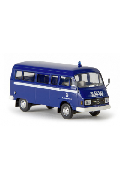 Brekina 13259 Автомобиль MB L 206D Kombi THW 1/87