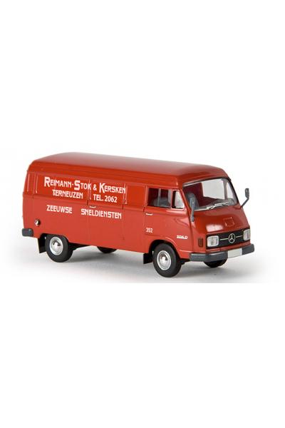 Brekina 13317 Автомобиль MB L 206 D Kasten R.S.K. NL 1/87
