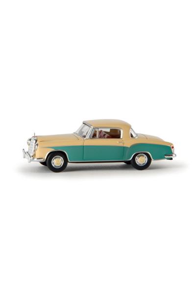 Brekina 13507 Автомобиль MB 220 S Coupe W 108 II 1/87