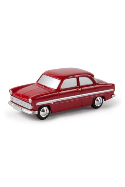 Brekina 13904 Модель автомобиля Ford 12m Die Halbstarken Epoche III 1/87