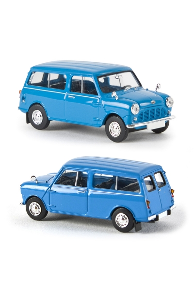 Brekina 15301 Модель автомобиля Austin Mini Countryman Epoche III 1/87