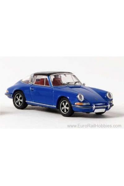 Brekina 16251 Автомобиль Porsche 911E Targa 1/87
