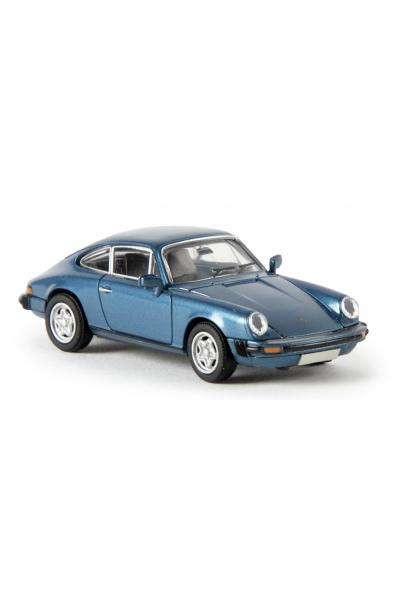 Brekina 16301 Автомобиль Porsche 911 Coupe Modell 1976 1/87