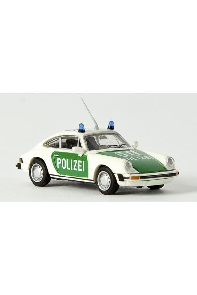 Brekina 16308 Автомобиль Porsche 911 Coupe Polizeifahrzeuge 1/87