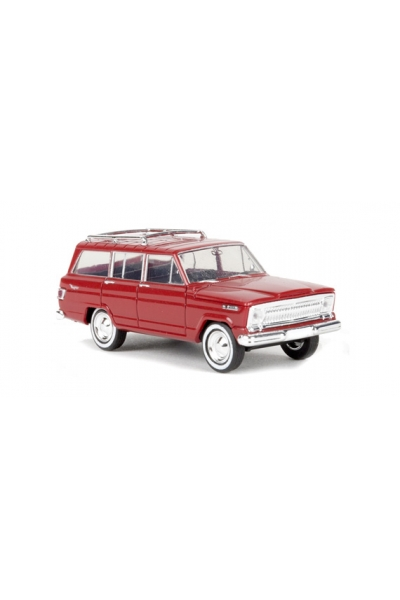 Brekina 19850 Автомобиль Jeep Wagoneer красный 1/87