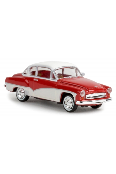 Brekina 27151 Автомобиль Wartburg 311 Coupe красный 1/87
