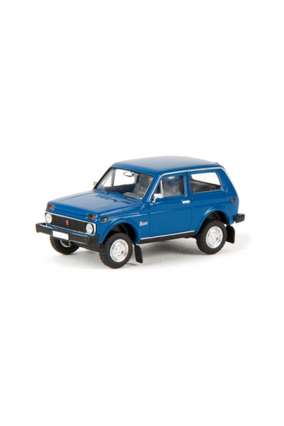Brekina 27211 Автомобиль Lada Niva ВАЗ 2121 цвет синий 1/87