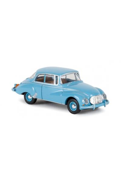 Brekina 28019 Автомобиль Auto Union 1000 S Limousine синий 1/87