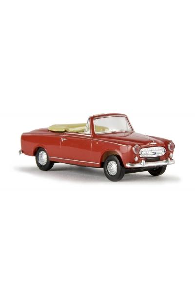 Brekina 29150 Модель автомобиля Peugeot 403 Cabrio Epoche III 1/87