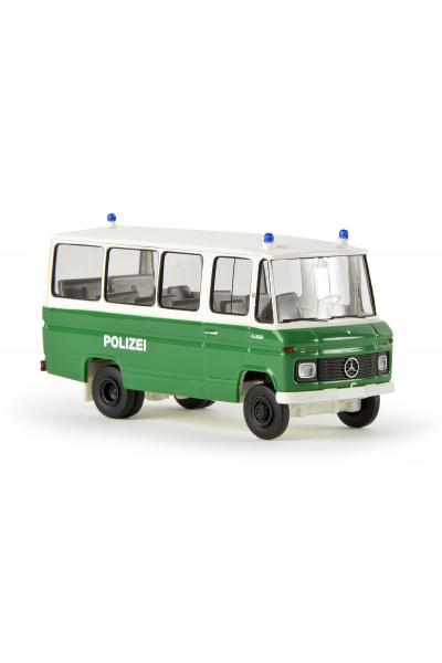 Brekina 36702 Автомобиль MB O 309 Bus Polizei 1/87