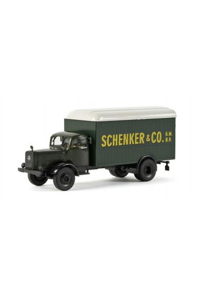 Brekina 44121 Автомобиль MB L 4500 Schenker 1/87